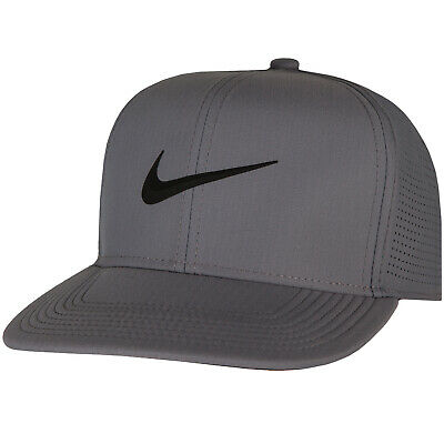 830635e2 New Nike Aerobill Pro Perforated Snapback Adjustable Golf Cap, Assorted  Colors