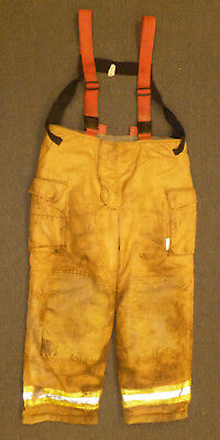 46X32 Firefighter Pants Turnout Bunker Fire Gear Securitex P892