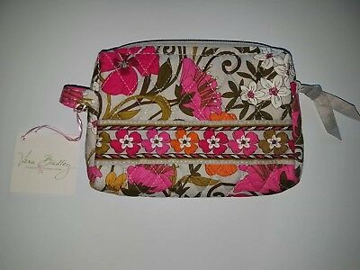 344695be75 Vera Bradley Small Cosmetic Bag In Retired Pattern  Tea Garden  -- New with