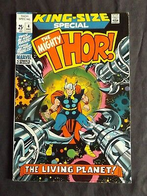Marvel Comics THOR King Size # 4 LIVING PLANET EGO