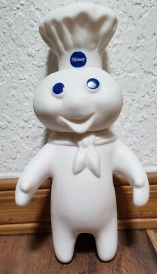 "Pillsbury Doughboy 7"" collectible rubber figure"
