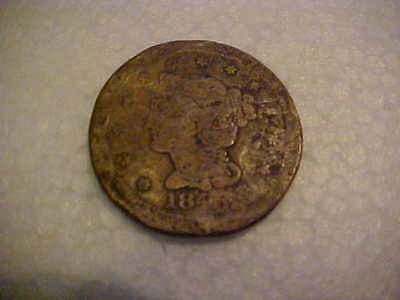 Lady Liberty One Cent  Braided Hair 1840