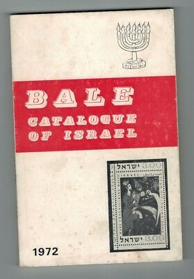 Bale 1972 Israel Catalogue Specialized Israel Stamps  English