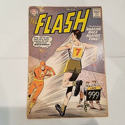 Flash 107 VG-                  HUGE DC SILVER AGE COLLECTION No Reserve