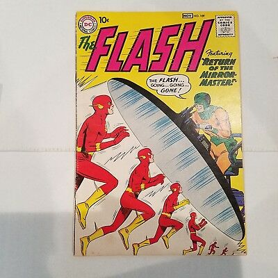 Flash 109 VG/F        HUGE DC SILVER AGE COLLECTION No Reserve