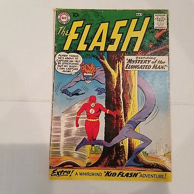 Flash 112 G/VG   HUGE DC SILVER AGE COLLECTION No Reserve