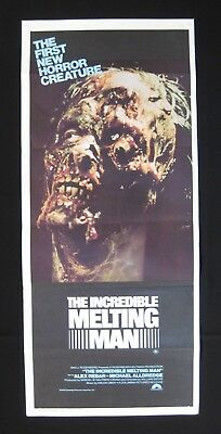 THE INCREDIBLE MELTING MAN Orig Australian daybill movie poster space horror