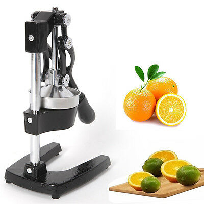 Orange Juice Press Hand Commercial Pro Manual Citrus Fruit Lemon Juicer Squeezer