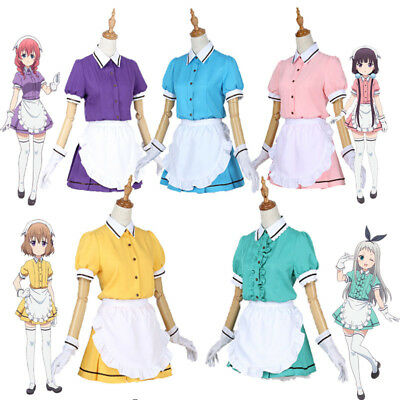 Blend S Burendo Esu Sakuranomiya Miu Amano Cosplay Costume Maid Servant  Dress P 766292cc1f6b