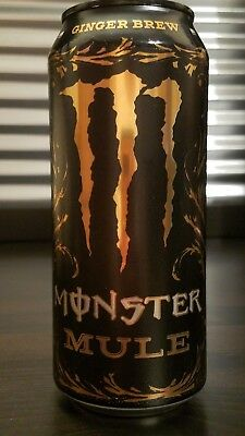 Limited Edition Monster Mule Energy Drink - Collectible Copper Can