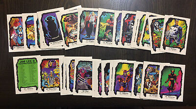 1991 Jim Lee Series 2 Comic Images Complete 45 Trading Card Set