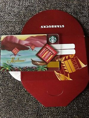 Starbucks Philippines Mindanao card. FREE SHIPPING!!