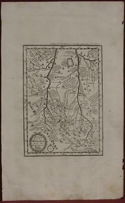Bolivia Jesuits Missions 1726 Anonymous Unusual Antique Copper Engraved Map