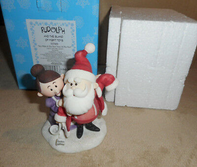Enesco Rudolph &The Island of Misfit Toys Figure Best Time of The Year s11