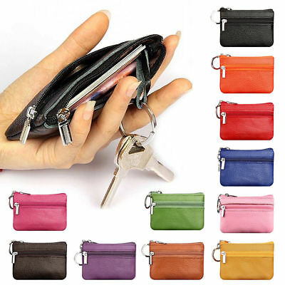 Lady Wallet Women Coin Bag Leather Ladies Simple Bifold Small Handbag Purse
