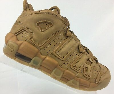 on sale adff0 2a0c9 Nike Air More Uptempo SE  96 FLAX WHEAT Gum Brown GS 922845-200 Pippen