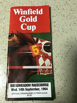 1994 Newcastle Gold Cup Racebook