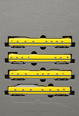 Kato 10-897 JR Shinkansen 923 'Doctor Yellow' 4 Cars Add-on Set (N scale)