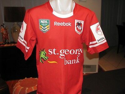 NRL Under 20's cup St George Illawarra players jersey