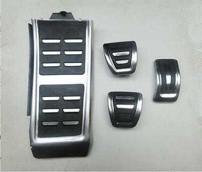 Fuel Gas Brake Foot Rest MT Pedal Plate Cover for Audi A4 A5 A6 RS7 A7 Q5 13-16