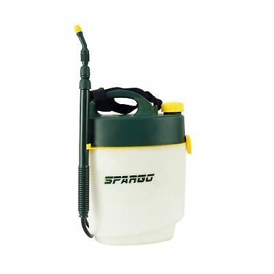 Spargo 5L Litre Garden Weed Chemical Pressure Power Rechargeable Battery Sprayer