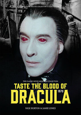 Taste the Blood of Dracula 1970 Hammer horror Christopher Lee movie magazine