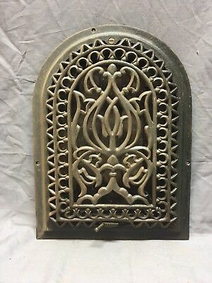 Antique Cast Iron Arch Dome Top Floor Register Heat Grate 12x8 Old Vtg 230-18E