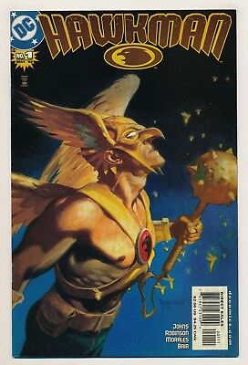 Hawkman (2002 4th Series) #1 VF--LOW PRICE