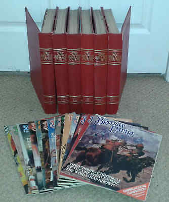 THE BRITISH EMPIRE - PARTWORK MAGS plus  ATLAS ISSUE - FULL PDF SET ON DVD