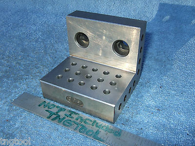 Angle Plate 3X3 Inch Machinist Toolmaker Watchmaker Hard Grind Fixture Inspect!!