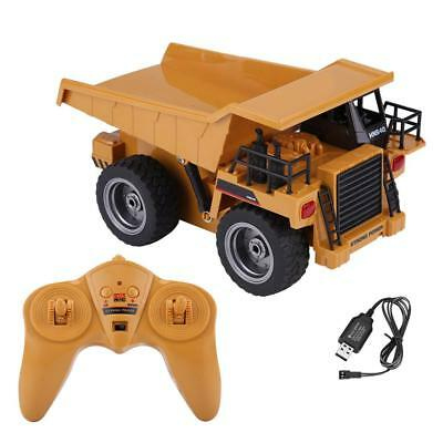 HuiNa Toys 540 6 Channel 1/12 Metal Dump Truck Charging RC Car EXTRA 1x Battery
