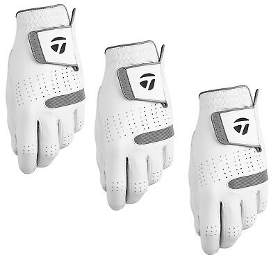 Taylormade Tour Preferred Flex Mens Golf Glove 2018 -3 Pack- Pick Hand & Size