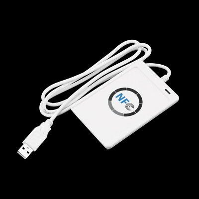 Contactless Smart Reader Writer NFC Complaint With CCID PS PC W/5 Pcs IC Card C1