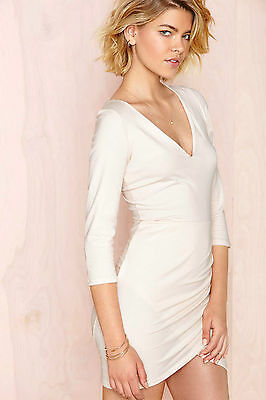 60ddbb5166c KEEPSAKE ANOTHER WORLD dress ivory lace new with tags nasty gal ...
