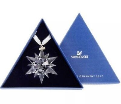 "Swarovski  ""2017 Annual Star Snowflake Ornament"" Large 5257589 * Free Shipping"