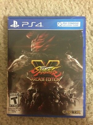 Street Fighter V Arcade Edition PS4, Just Opened