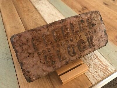 Antique Brick Peebles Block Portsmouth Ohio