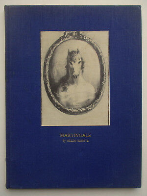 1937 Helen Kirby ILLUSTRATED HORSE STORY ~ MARTINGALE ~1st EDITION poetry satire
