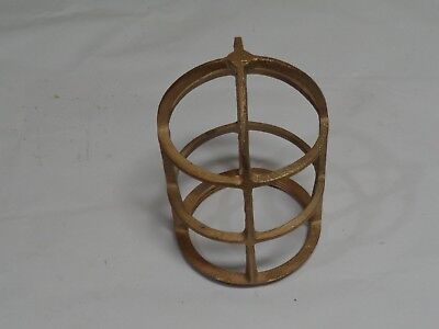 Vintage, light cage,  R&S Co., solid brass, used