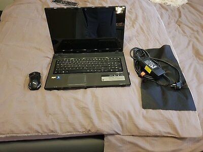 "Laptop Acer Aspire 7551G 17,8"" RAM 4GB"