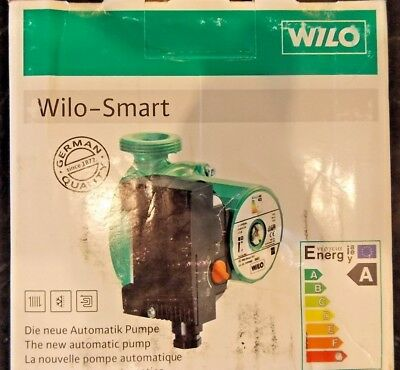 Wilo Smart A Rated 25/4-130 Central Heating Pump