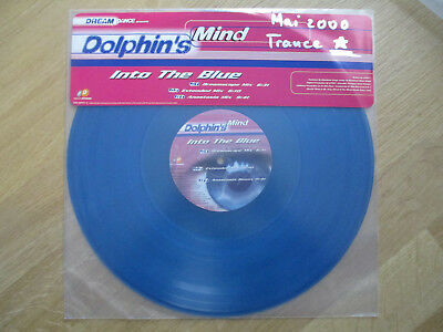 "Blue-Vinyl 12"", Dolphin's Mind ‎– Into The Blue, DAD 669413 6, 2000"
