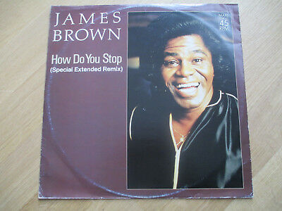 "Vinyl 12"", James Brown ‎– How Do You Stop (Special Extended Remix), INT 127.314"