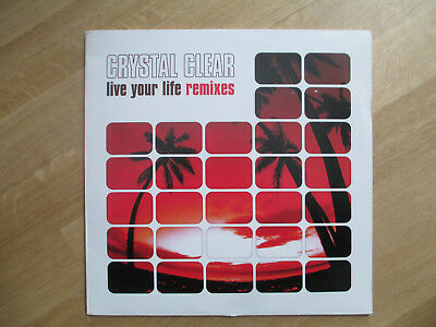 "Vinyl 12"",  Crystal Clear ‎– Live Your Life Remixes, 011208-0 CLU, 2000"