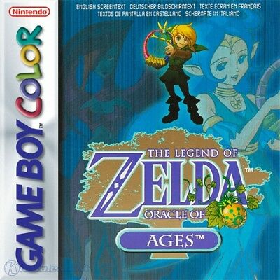 Nintendo GameBoy Color game - The Legend of Zelda: Oracle of Ages (boxed)