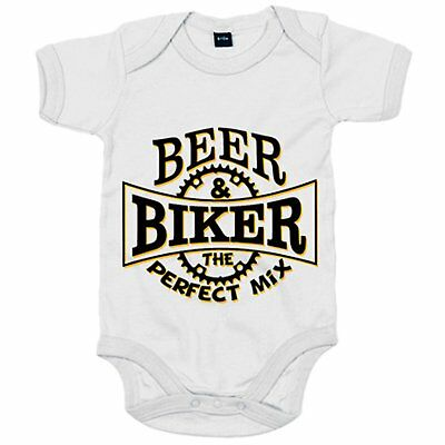 Body bebé Beer Biker