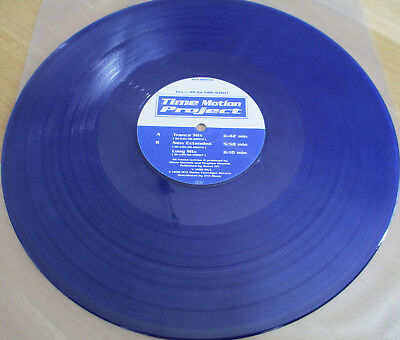 "Blue-Vinyl 12"",  Time Motion Project ‎– Emergency, OXA 8010-12, 1998"