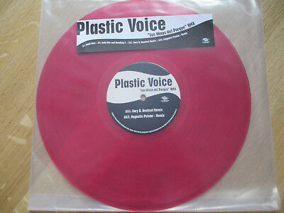 "Red Vinyl 12"", Plastic Voice ‎– Los Ninos Del Parque (Remixes), Urban, 1997"