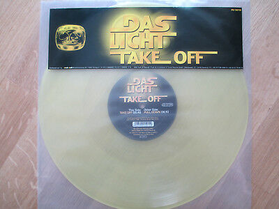 "Yellow-Vinyl 12"",  Das Licht ‎– Take Off, Push Up Records ‎– PU 5015, 2002"