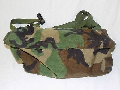 Woodland Camo MOLLE II Waist Pack Butt Fanny Hip Bag US Military